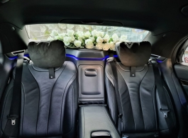 Modern Mercedes for weddings in London